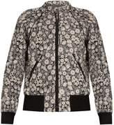 Rebecca Taylor Liane floral-jacquard bomber jacket