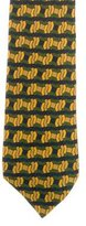 Hermes Abstract Print Twill Tie