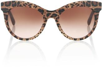 Dolce & Gabbana Leopard-printed sunglasses
