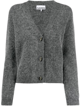 Ganni V-neck cardigan