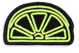Marc Jacobs Outline lemon embroidered patch