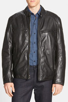 Andrew Marc Mac Lightweight Leather Moto Jacket
