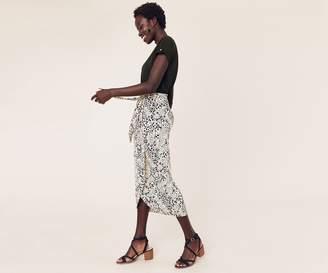 Oasis Contrast Leopard Dress