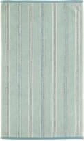 Sanderson Brecon Stripe Towel - Aqua - Guest Towel