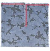Valentino Garavani Valentino camouflage scarf - men - Silk/Polyester/Wool - One Size