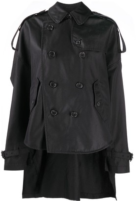 R 13 Short Trench Jacket