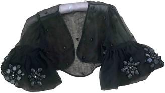 Megan Park \N Black Silk Top for Women