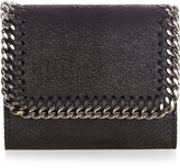 Stella McCartney Falabella faux-suede wallet