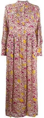 Lala Berlin Floral-Print Shirt Dress