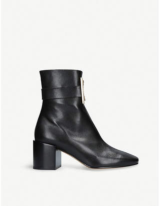 Givenchy 4G leather ankle boots