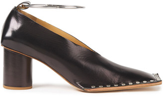 Jil Sander Studded Leather Pumps