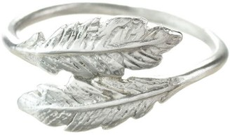 Lucy Flint Jewellery Feather Ring Sterling Silver