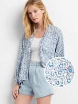 Gap Drapey print kimono