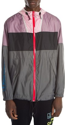 Marcelo Burlon County of Milan Colorblock Hooded Windbreaker