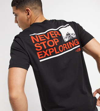 The North Face Explore t-shirt in black Exclusive at ASOS