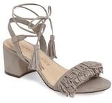 Athena Alexander Women's Fringed Ankle Wrap Sandal