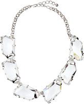 Kenneth Jay Lane Chunky Crystal Bib Necklace