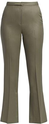 LVIR Summer-Wool Flare Trousers