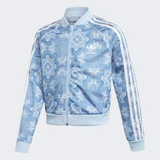 adidas Culture Clash Cropped SST Track Jacket