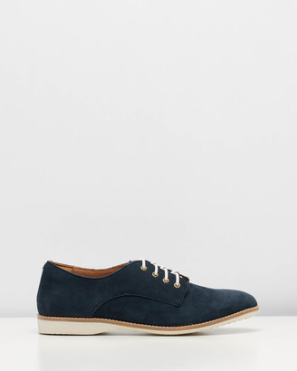 Roolee Nubuck Derby Shoes