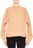 Sandro Sample Cape-Style Merino-Wool Sweater