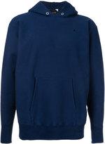 Aton - minimal hoodie - men - Cotton - 6