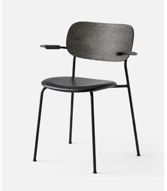 Menu Co Chair Solid Wood Arm Chair in Black