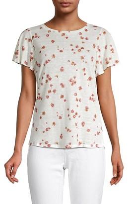 Miss Me Floral Linen T-Shirt
