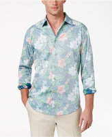 Tasso Elba Men's Classic-Fit Floral Shirt, Only at Macy's