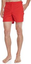 Orelebar Brown Setter Short-Length Swim Trunks, Red