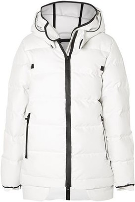 TEMPLA Quilted Cotton-blend Shell Hooded Jacket