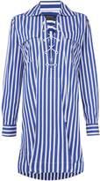 Polo Ralph Lauren Nri long sleeve stripe casual dress