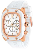 Glam Rock Women's GR70100 Gulfstream Collection Chronograph White Silicone Watch
