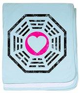 CafePress - Dharma Love baby blanket - Baby Blanket, Super Soft Newborn Swaddle