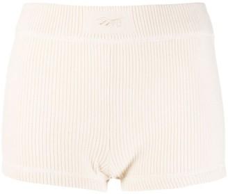 Reebok x Victoria Beckham Ribbed Knit Shorts