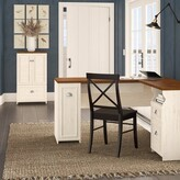 Beachcrest Home Oakridge L-shaped Executive Desk