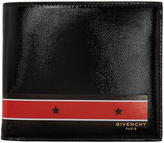 Givenchy Black and Red Stars and Stripes Wallet