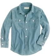 J.Crew Boys' vintage chambray shirt