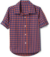 Gap Gingham short sleeve shirt