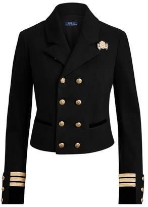 Ralph Lauren Cotton-Blend Military Blazer