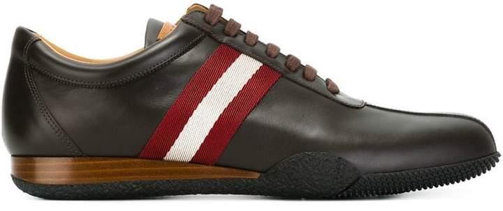 Bally stripe detail sneakers