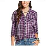 Ariat Women's Long Sleeve Snap Shirt