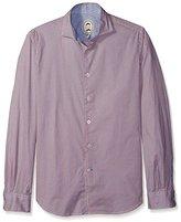 Ganesh Men's Span Long Sleeve Print Shirt