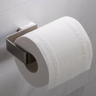 Kraus KRAUS Stelios Bathroom Toilet Paper Holder, Brushed Nickel Finish