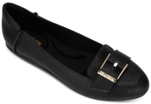 Kenneth Cole Reaction Women's Viv Buckle Loafer Flats Women's Shoes