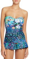 Profile by Gottex Paradise Bay Bandeau One Piece Swimsuit