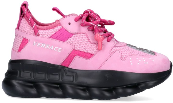 Versace Pink Women's Sneakers | Shop