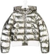 Moncler metallic padded jacket