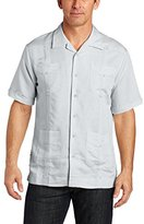 Cubavera Men's Short Sleeve Traditional Guayabera Shirt