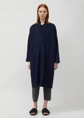 Pas De Calais Cotton Cardigan Coat